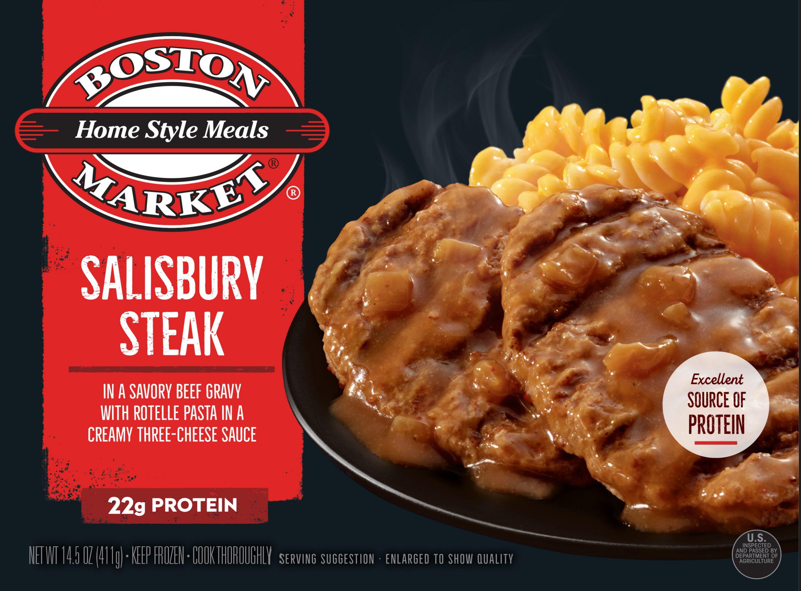 Salisbury Steak box