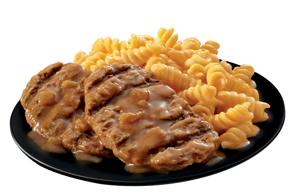 Salisbury Steak plate