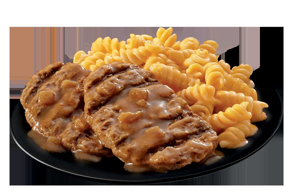 Salisbury Steak plate