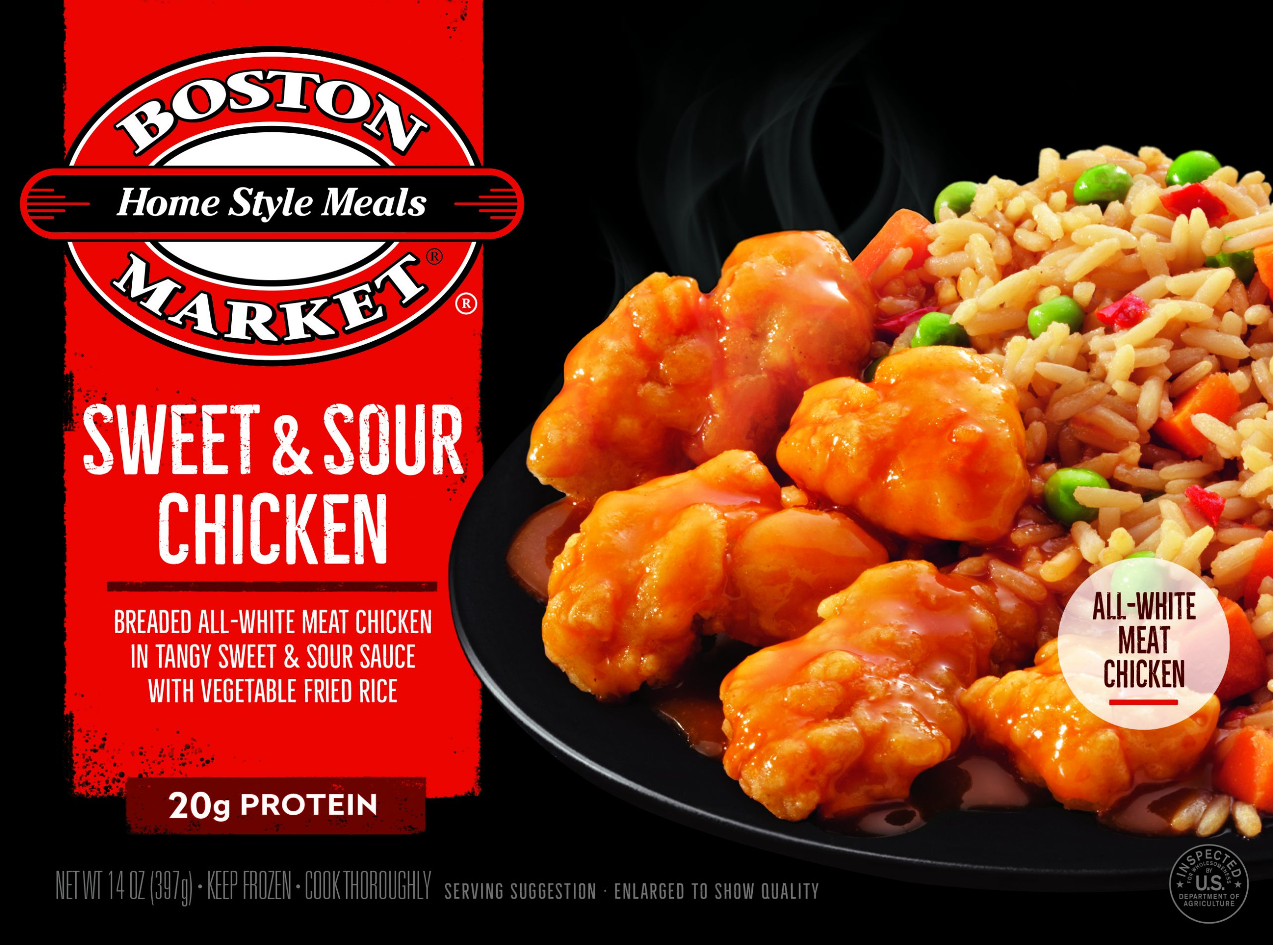 Sweet & Sour Chicken box