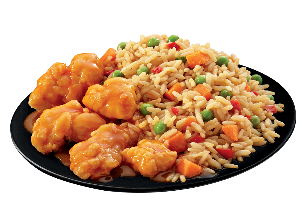 Sweet & Sour Chicken plate