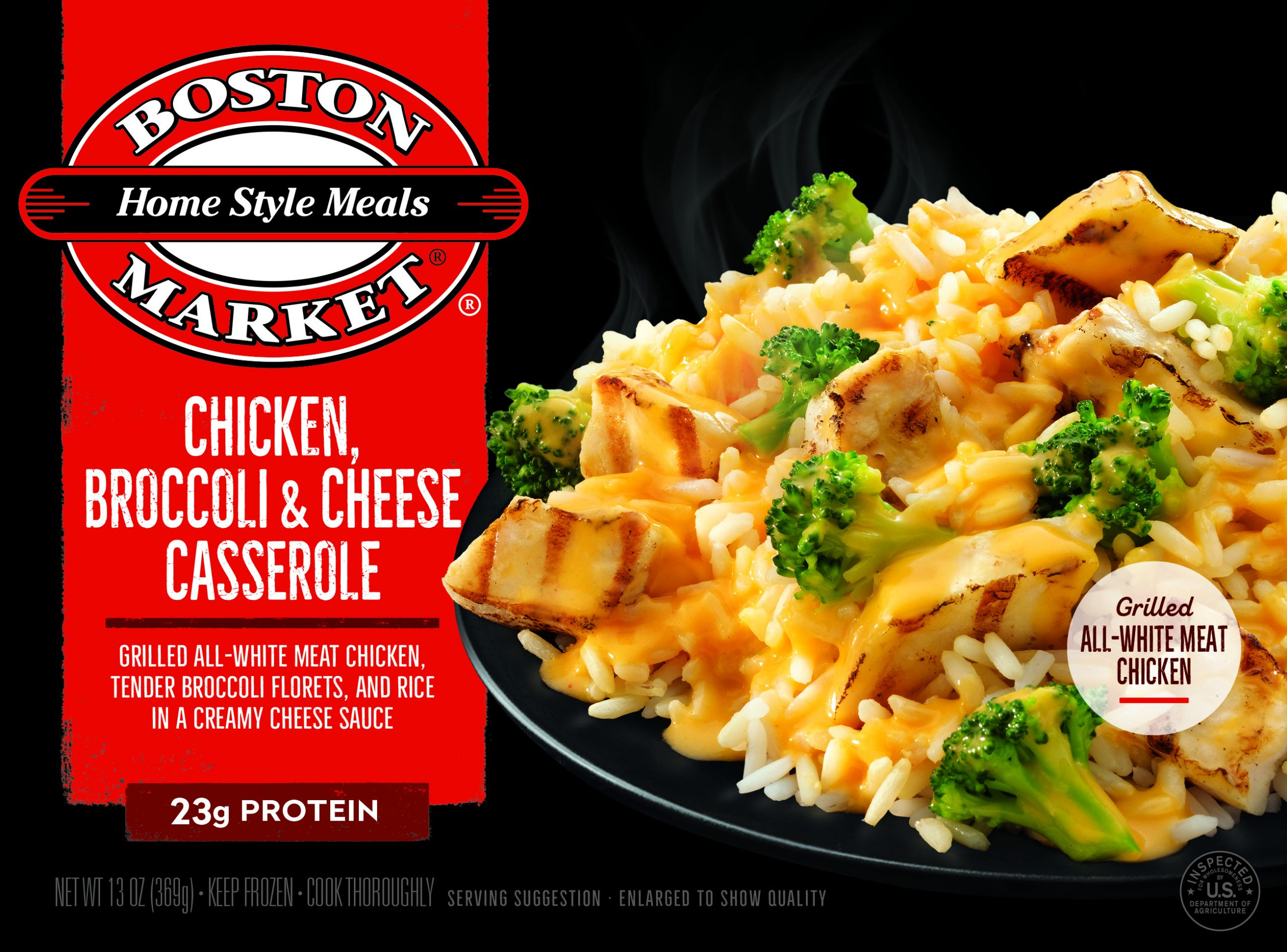 Chicken, Broccoli & Cheese Casserole box