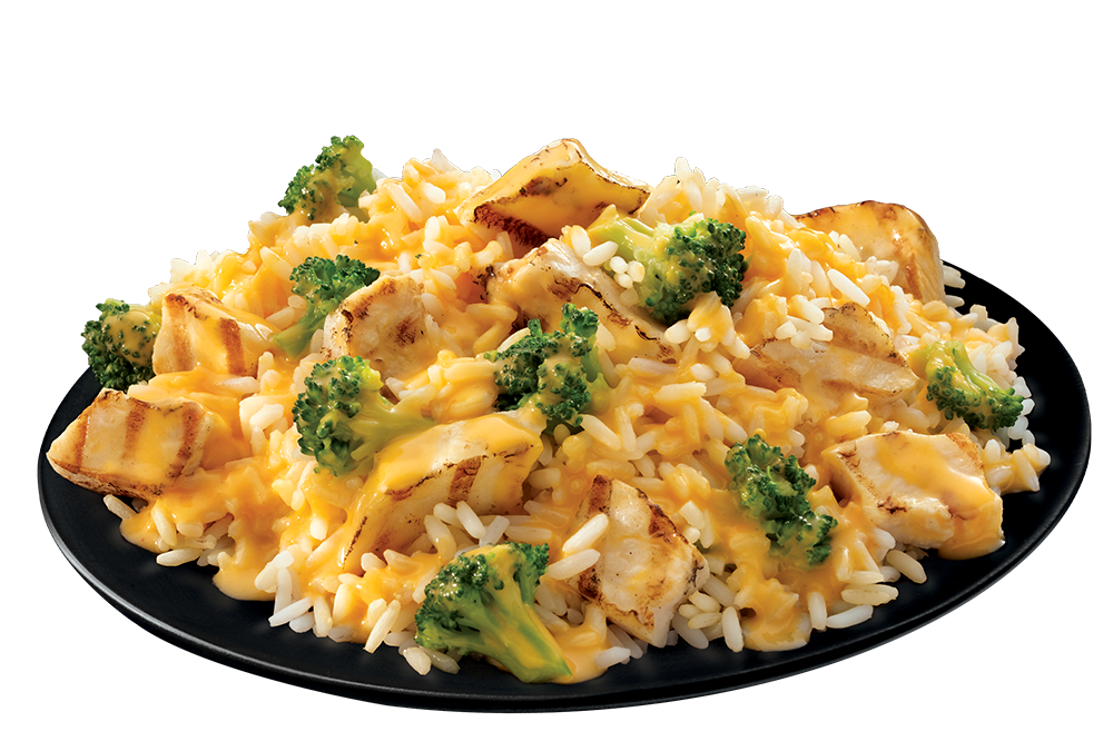 Chicken, Broccoli & Cheese Casserole plate