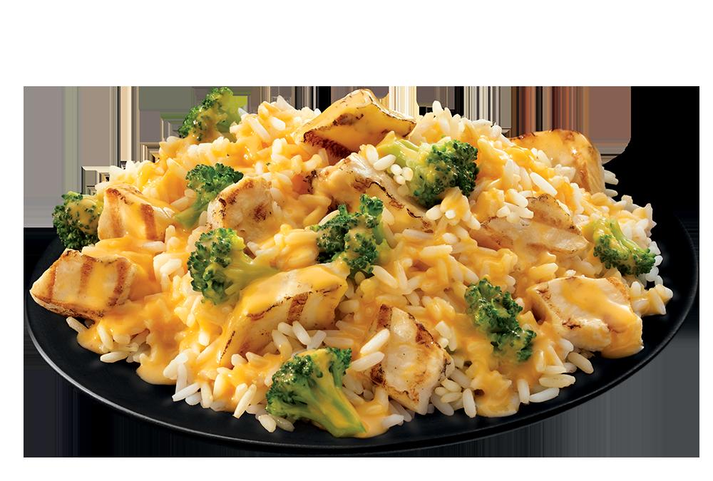 Chicken, Broccoli & Cheese Casserole plate