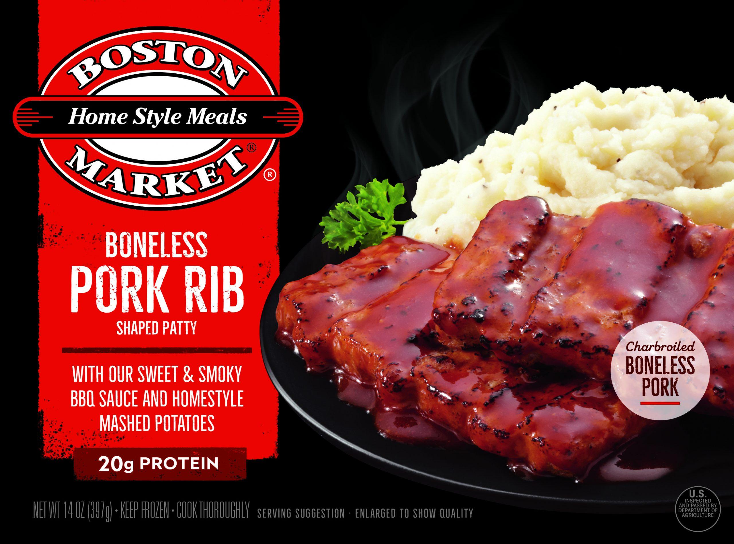 Boneless Pork Rib Shaped Patty box