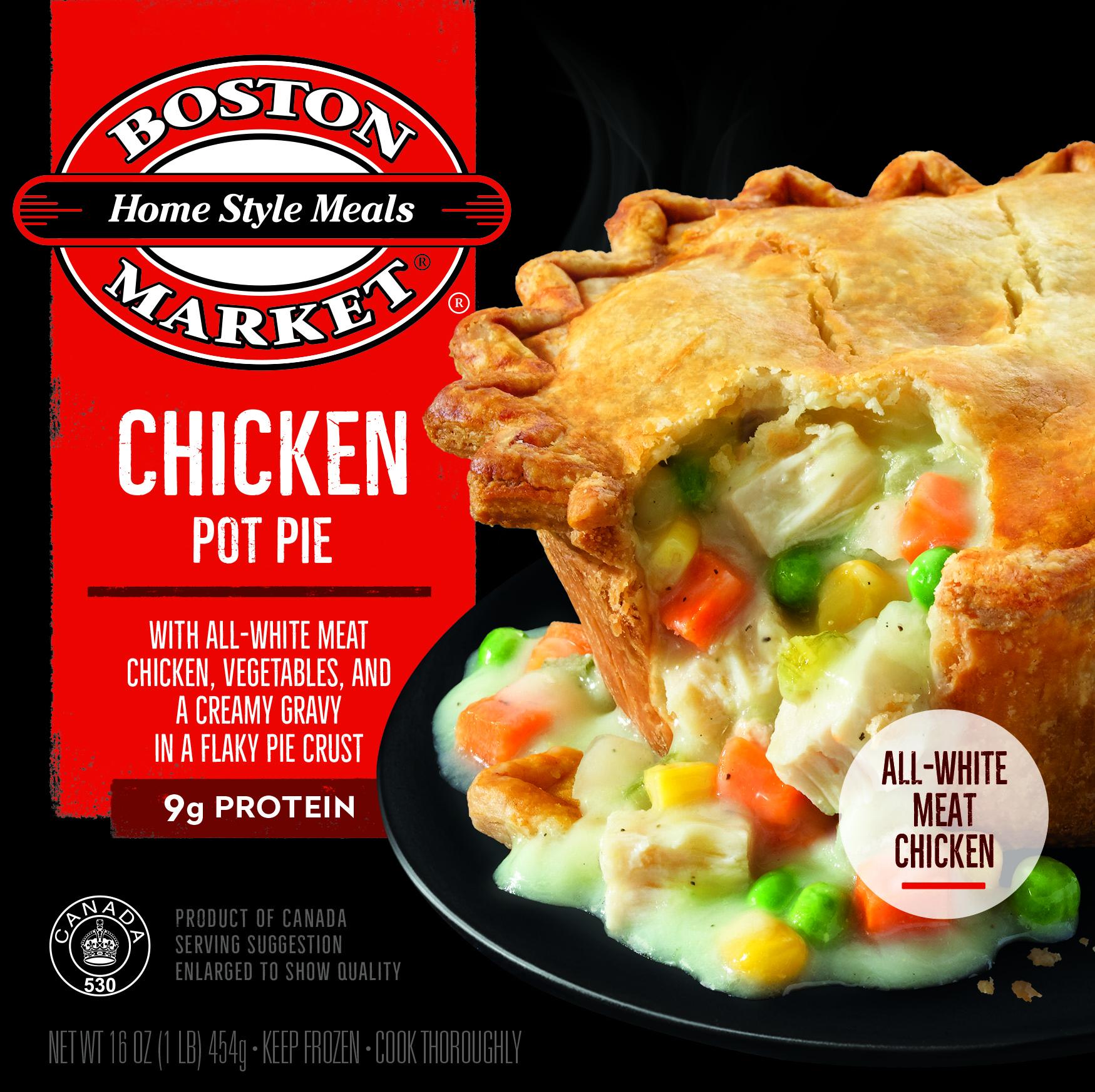 Chicken Pot Pie box