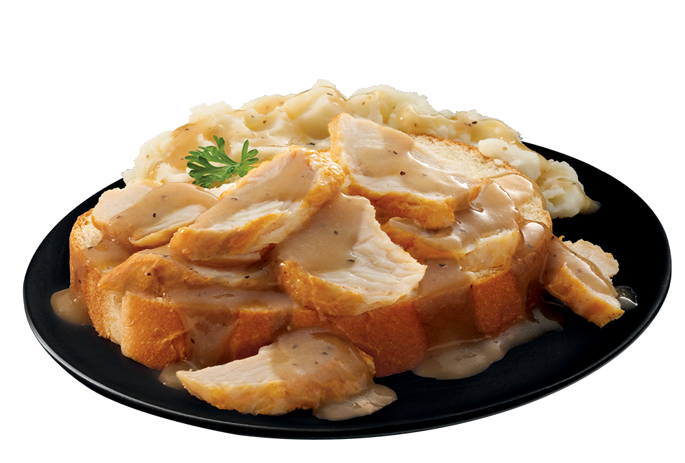 Smothered Turkey plate