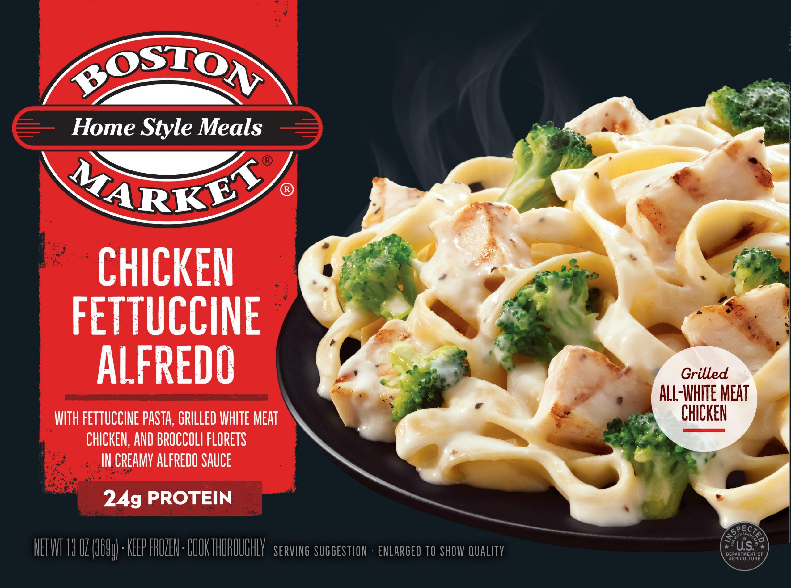 Chicken Fettuccine Alfredo box