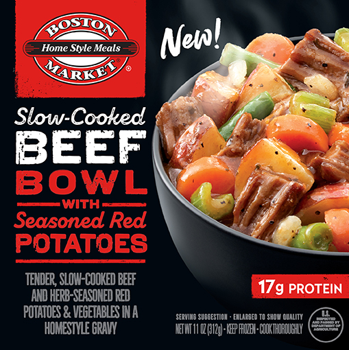 Slow-Cooked Beef Bowl with Seasoned Red Potatoes box